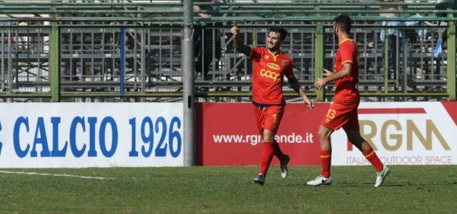 Giannone Catanzaro gol lapresse 2018 640x300