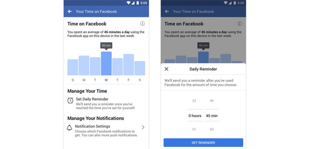 Facebook, arriva la nuova funzione timer