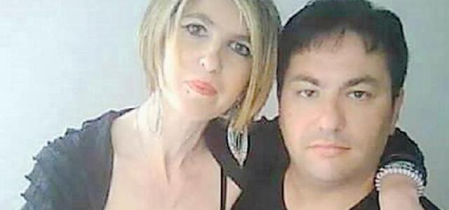 Giusy Pepi con il marito Davide Avola