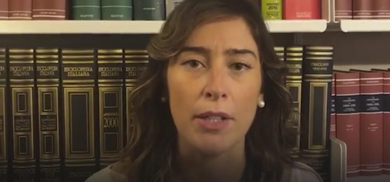 Maria Elena Boschi, video contro Di Maio