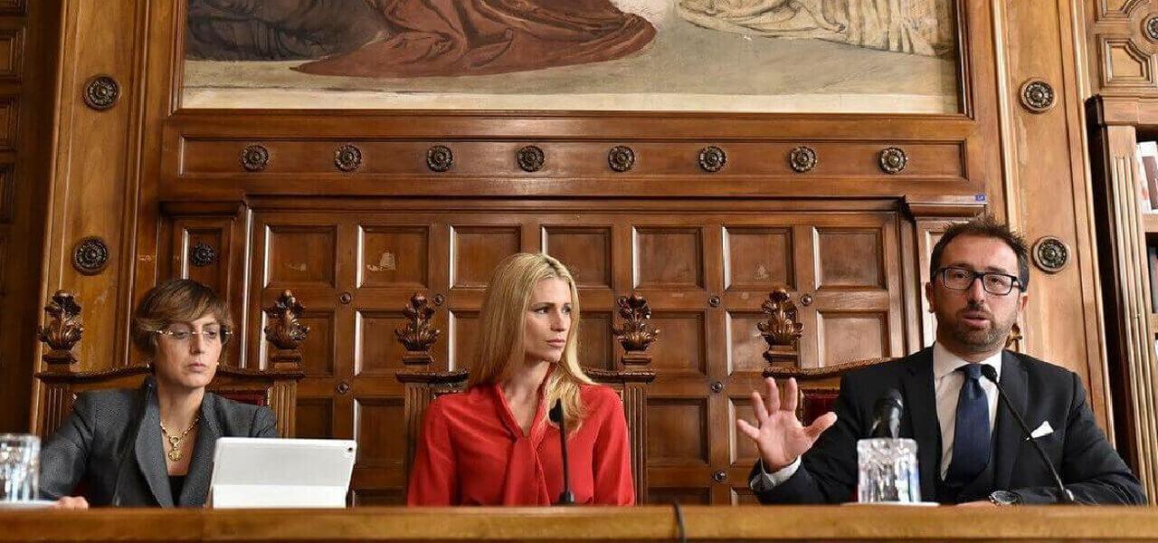 Bonafede, Bongiorno e Hunziker presentano Codice Rosso