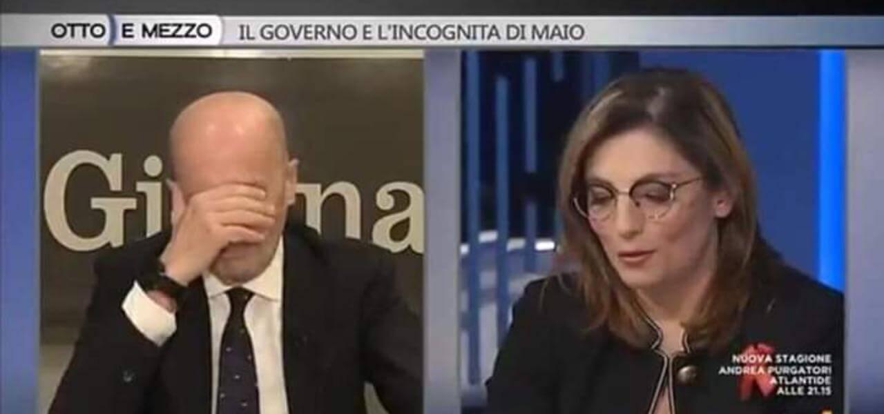 Sallusti e Laura Castelli