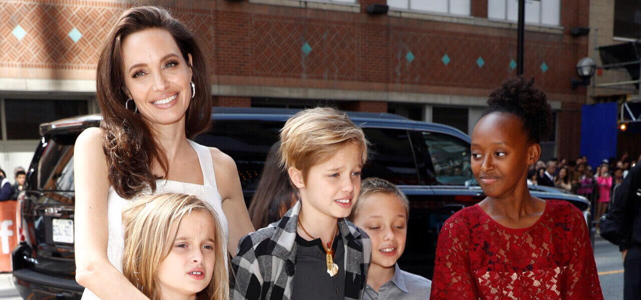 I figli di Angelina Jolie
