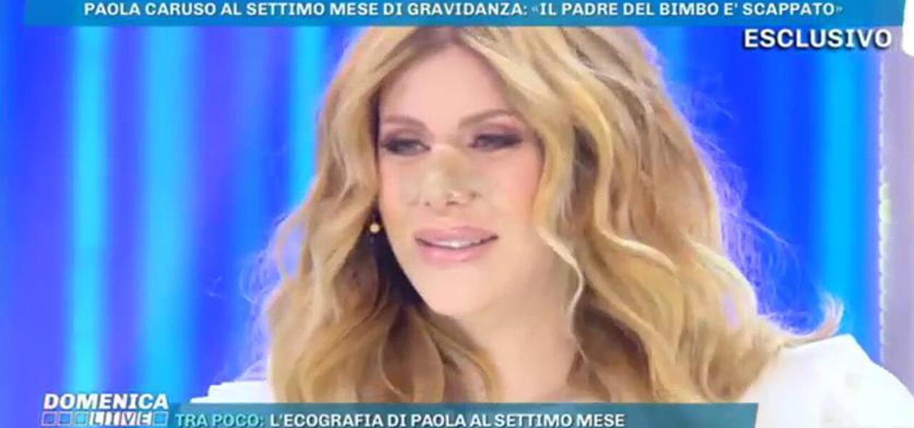 Paola Caruso (Domenica Live)