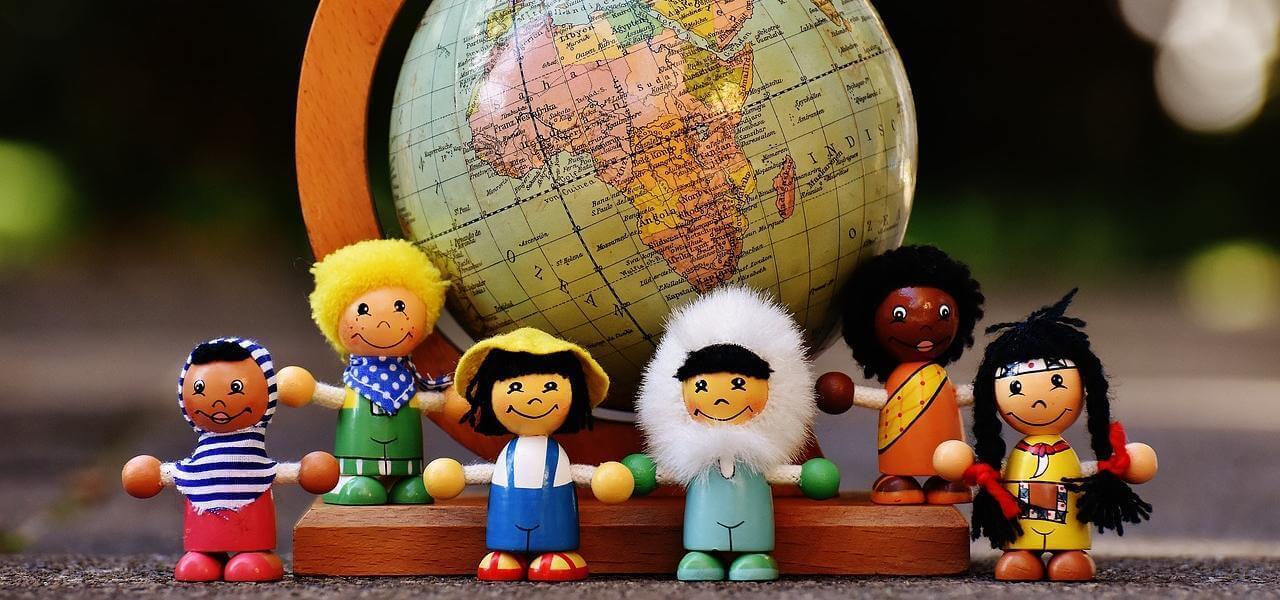 Bambolotti e nazionalità diverse
