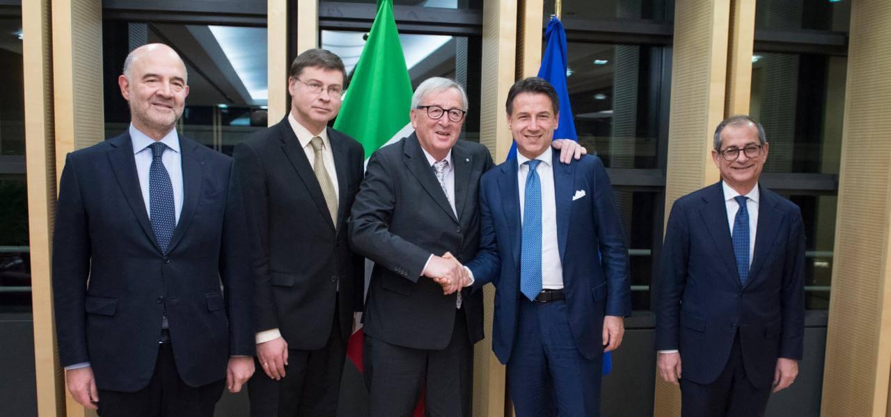 Commissione Ue-Governo Conte