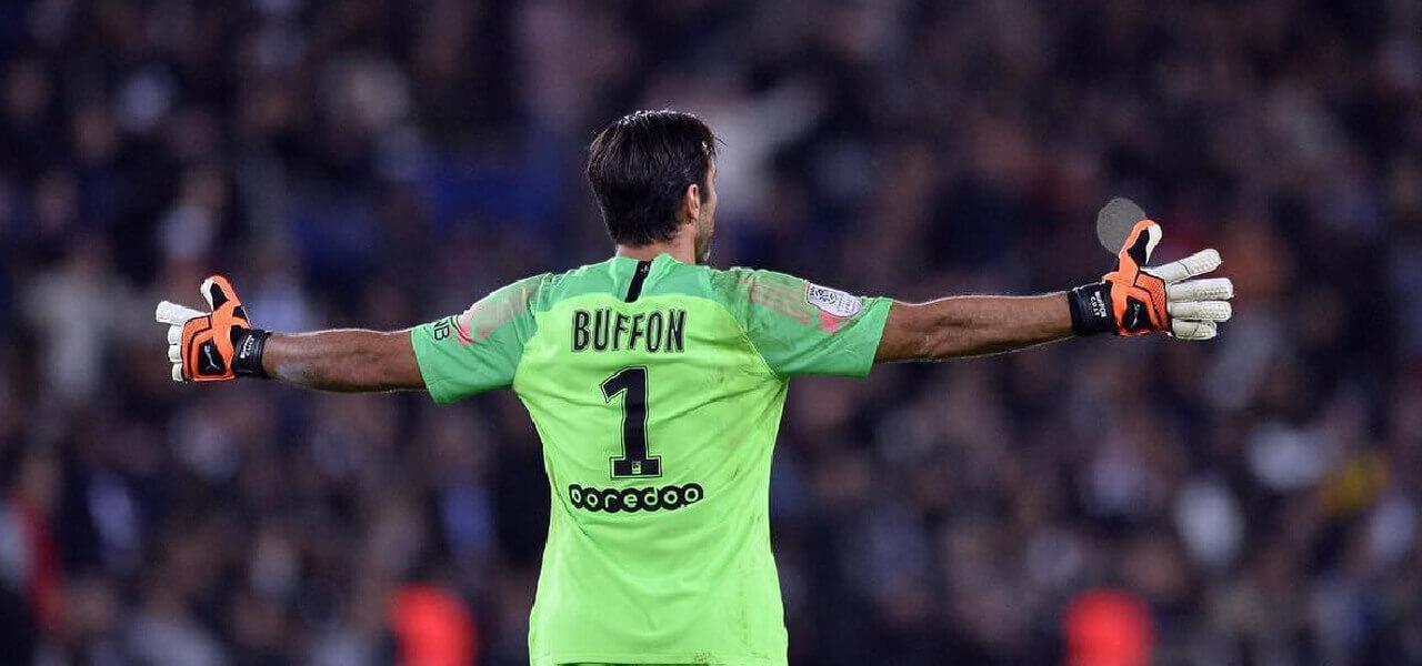 Gigi Buffon, portiere PSG