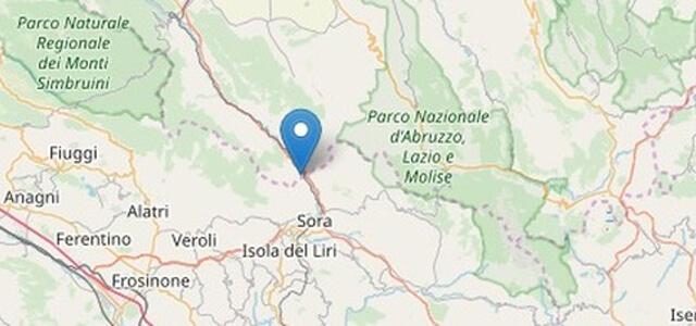Terremoto a Sora fra Lazio e Abruzzo