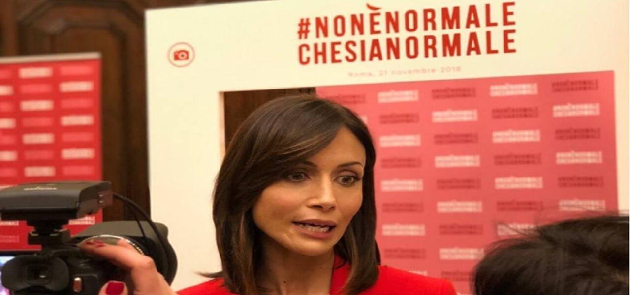 mara carfagna forza italia intervista 2018 facebook