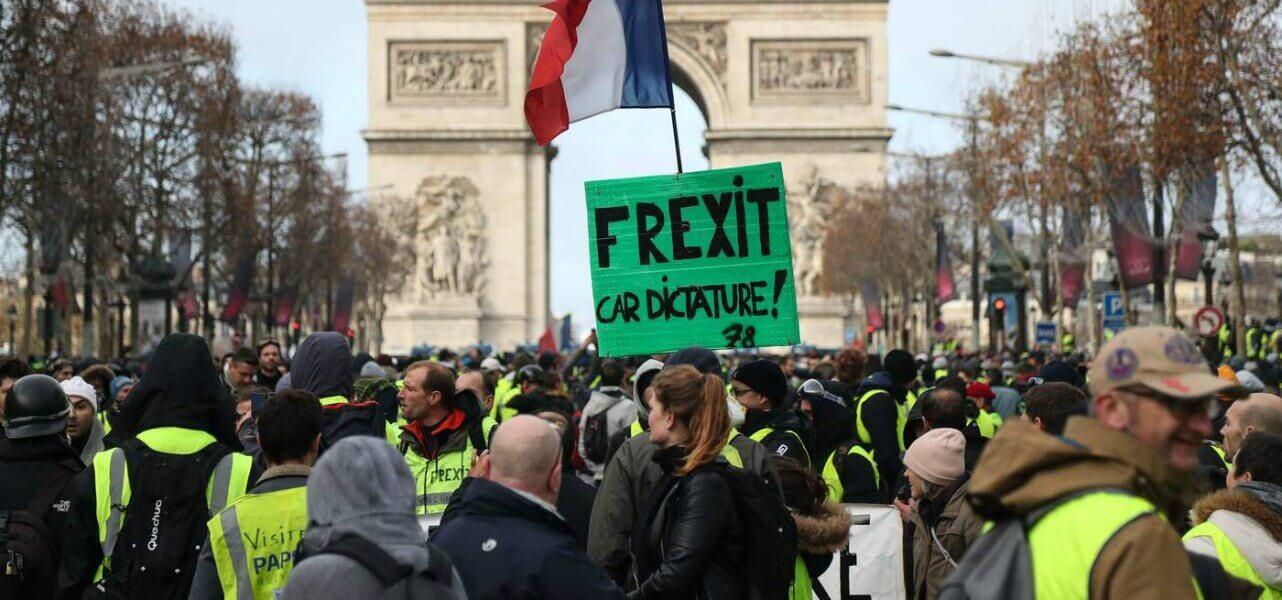 francia parigi giletgialli frexit lapresse1280