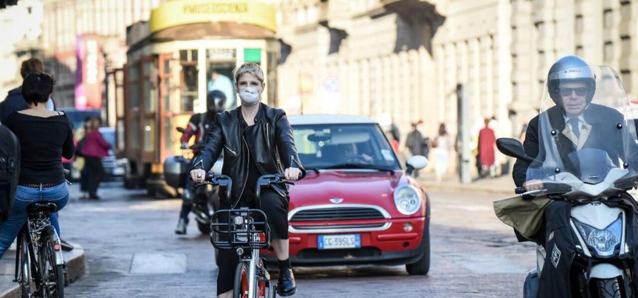 milano traffico smog inquinamento lapresse1280