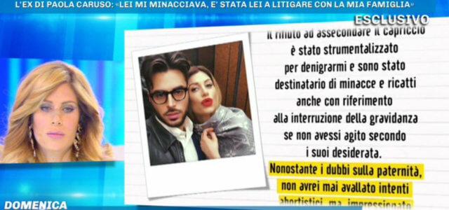 Francesco Caserta replica a Paola Caruso