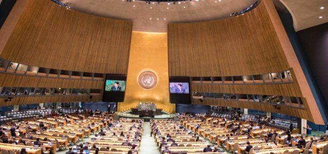 Assemblea dell'Onu, l'intervento di Giuseppe Conte