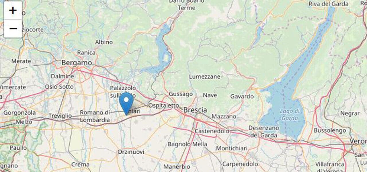 Terremoto a Brescia