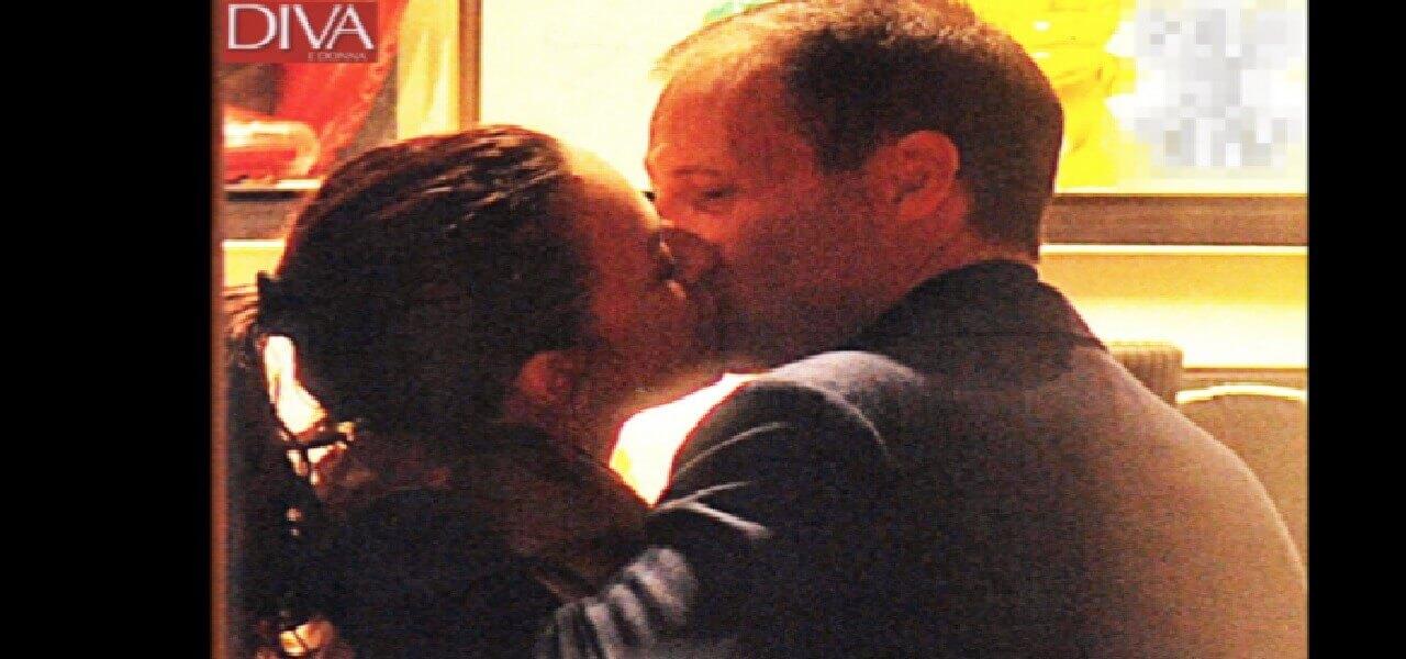 Ambra angiolini max allegri bacio