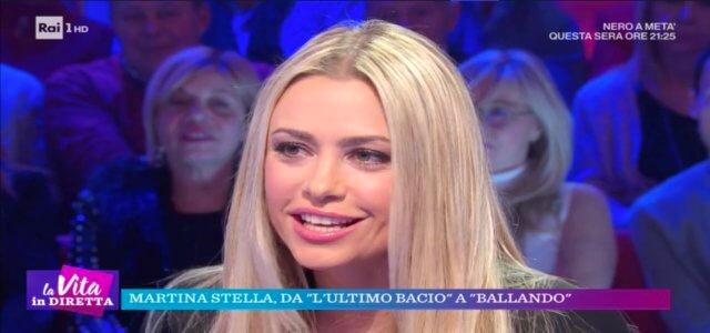 Martina Stella a La vita in diretta