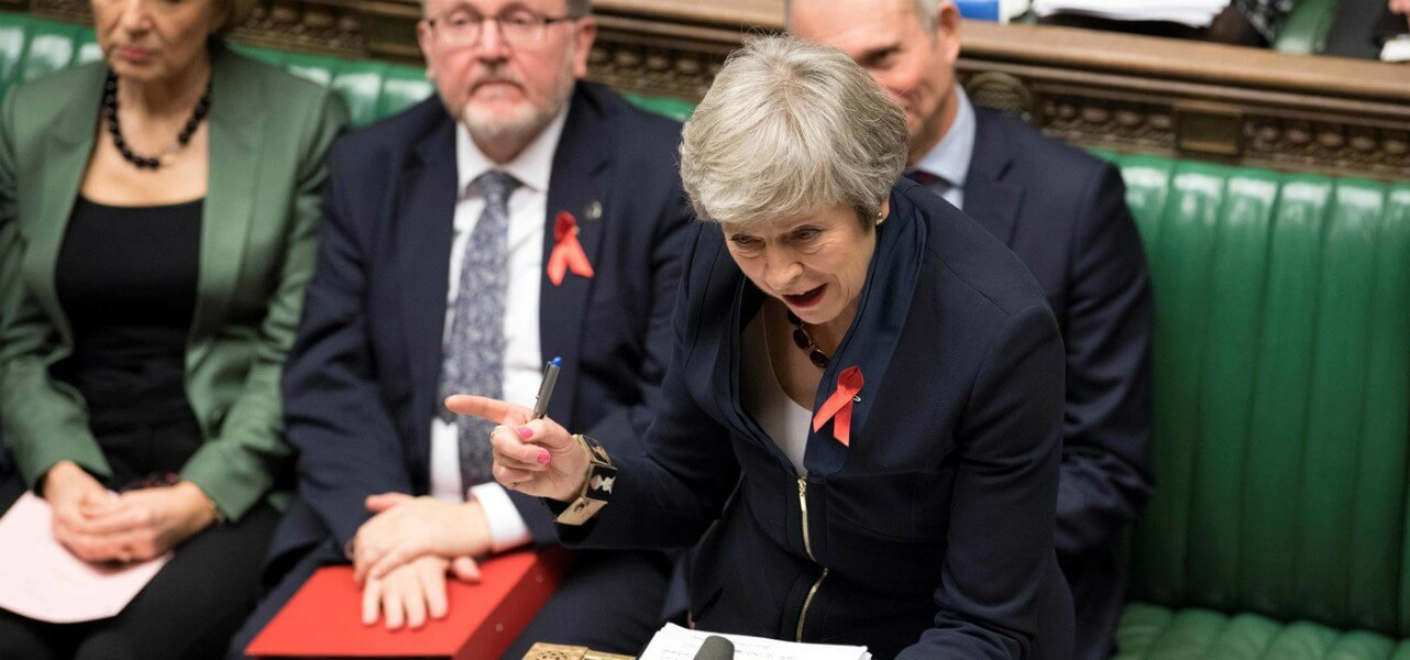 theresa may parlamento lapresse1280