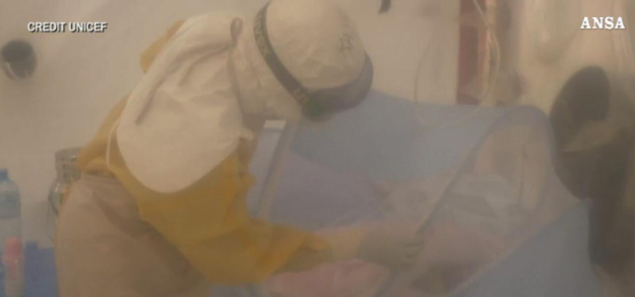 ebola bimba 6 giornI 2018 ansa