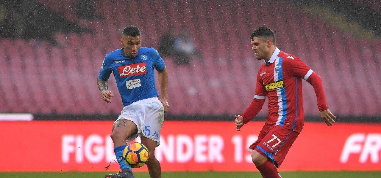Allan Viviani Napoli Spal lapresse 2018