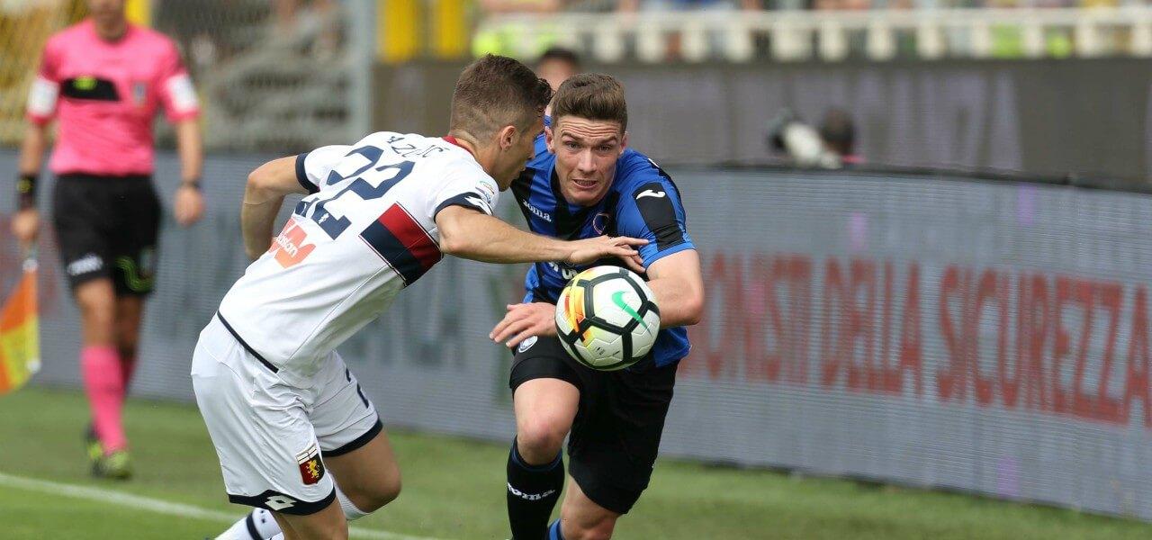 Lazovic Gosens Genoa Atalanta lapresse 2018