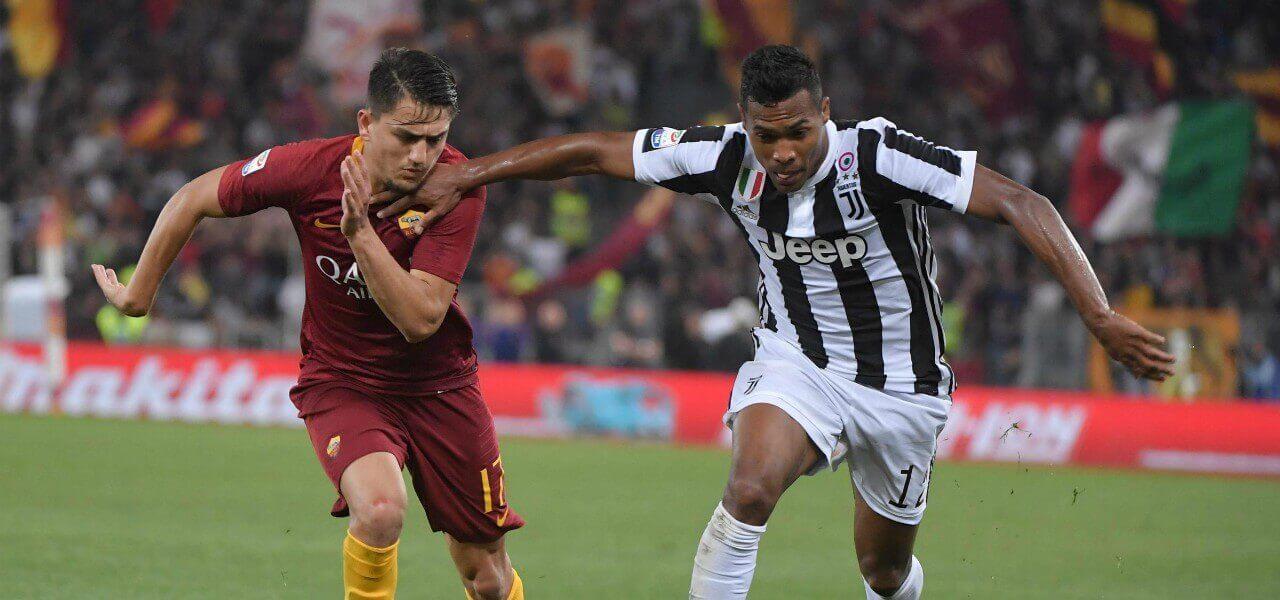 Under AlexSandro Roma Juventus lapresse 2018