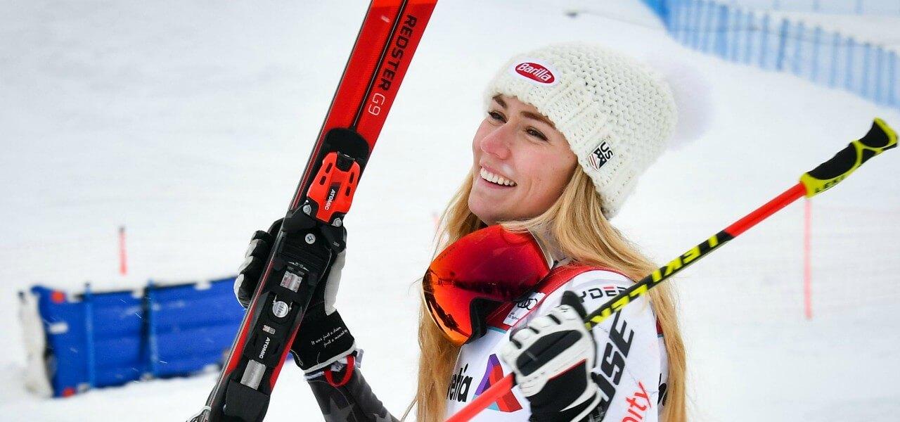 Mikaela Shiffrin vittoria lapresse 2018