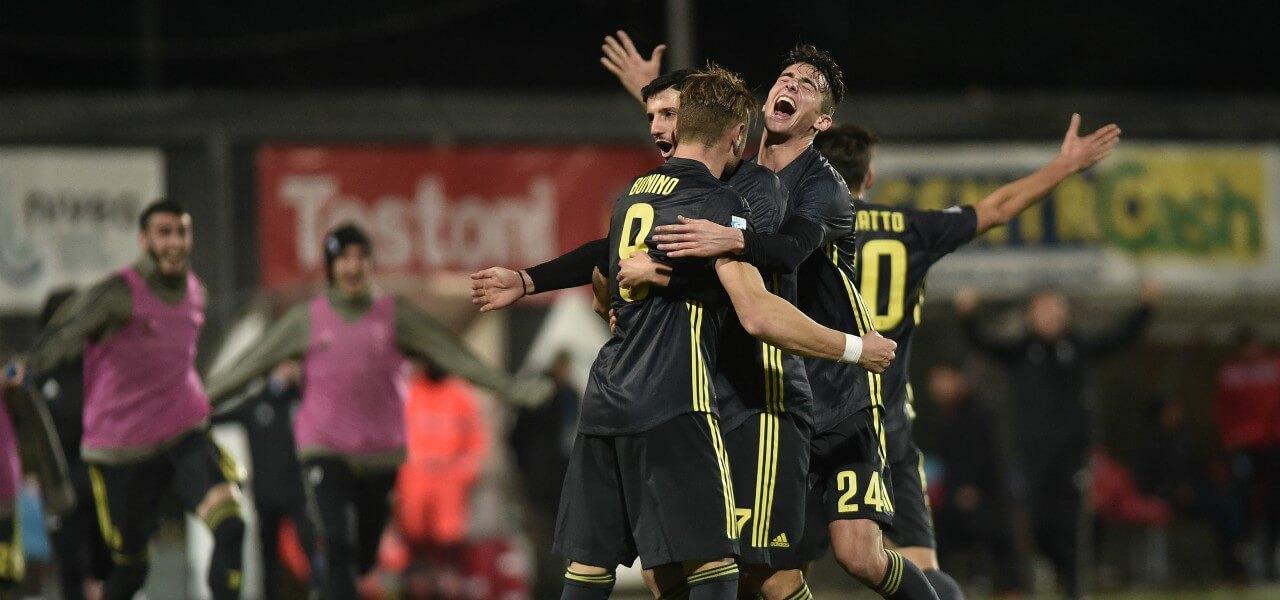 Bunino gol esultanza JuventusU23 lapresse 2018