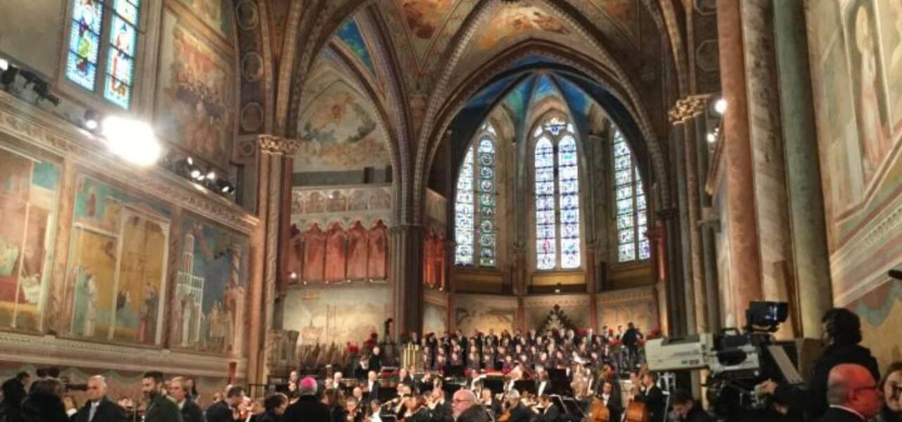 Concerto Natale ad Assisi