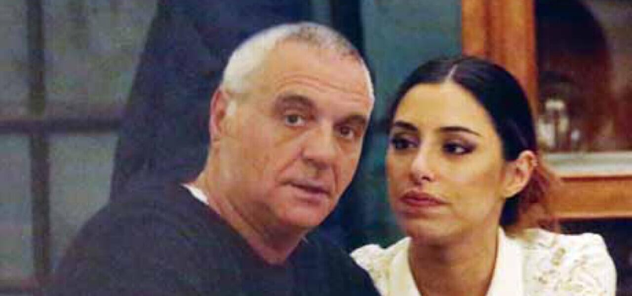Giorgio Panariello e Claudia Capellini