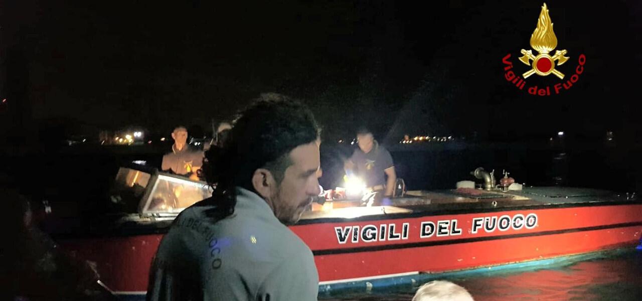 Vigili del fuoco a Venezia: si cerca 50enne
