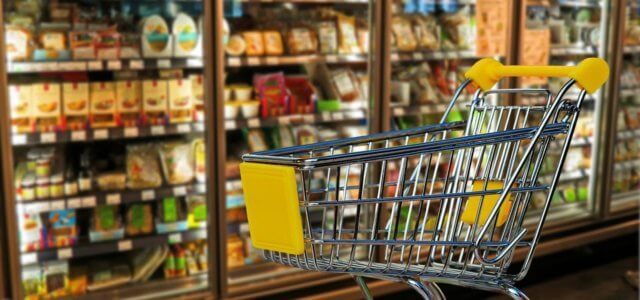 spesa supermercato shopping carrello pixabay 2018 640x300