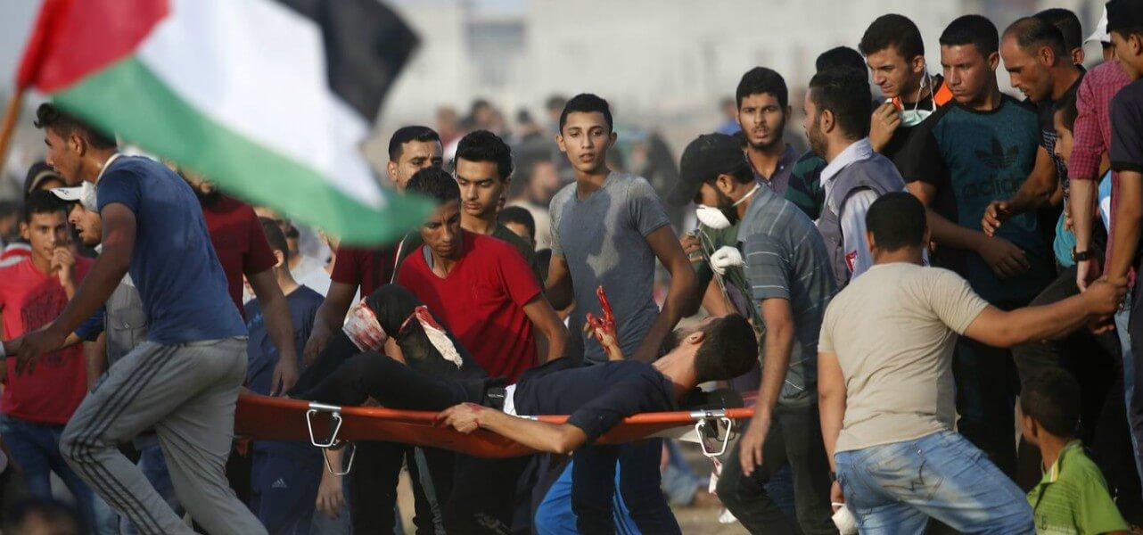 gaza palestinesi israele lapresse1280