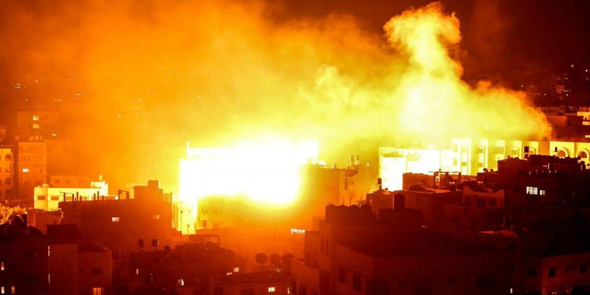 siria gaza guerra bomba lapresse1280