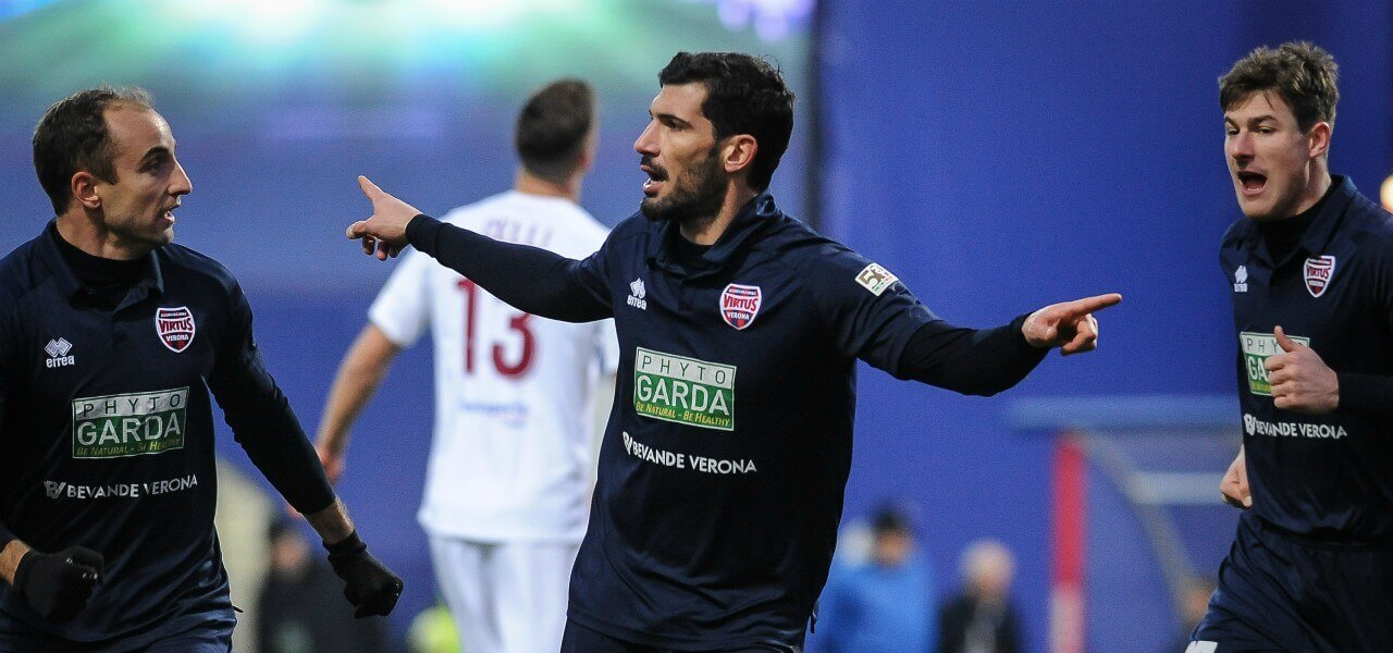 Momente Virtus Verona gol lapresse 2018