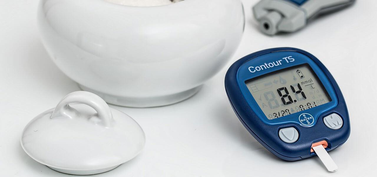 Un glucometro per il diabete