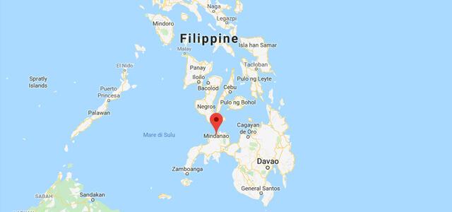 Terremoto nelle Filippine, nell'isola di Mindanao