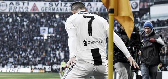 Cristiano Ronaldo, doppietta contro la Samp