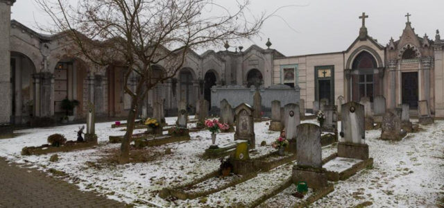 Cimitero Stroppiana dove è stato commesso il fatto