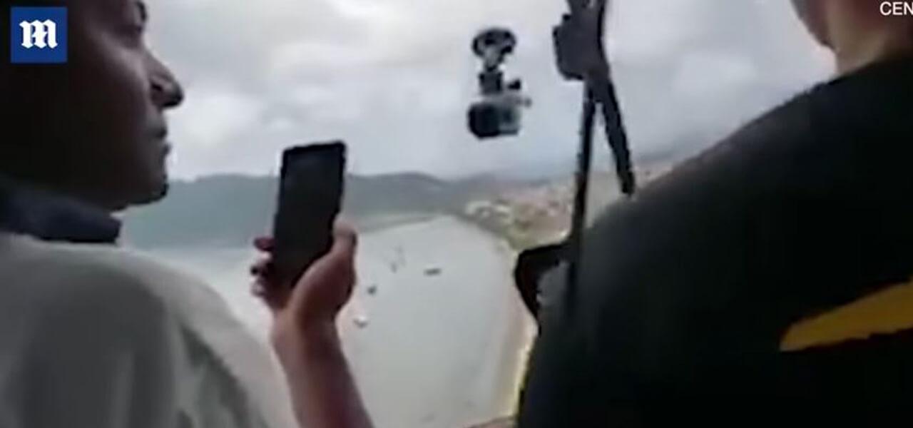 Elicottero precipita e uccide passante