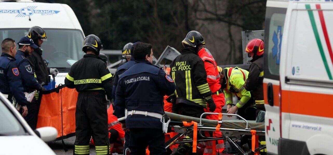 incidente stradale soccorso lapresse1280