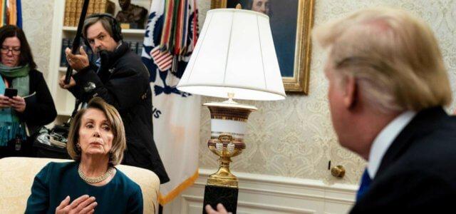 Nancy Pelosi e Donald Trump