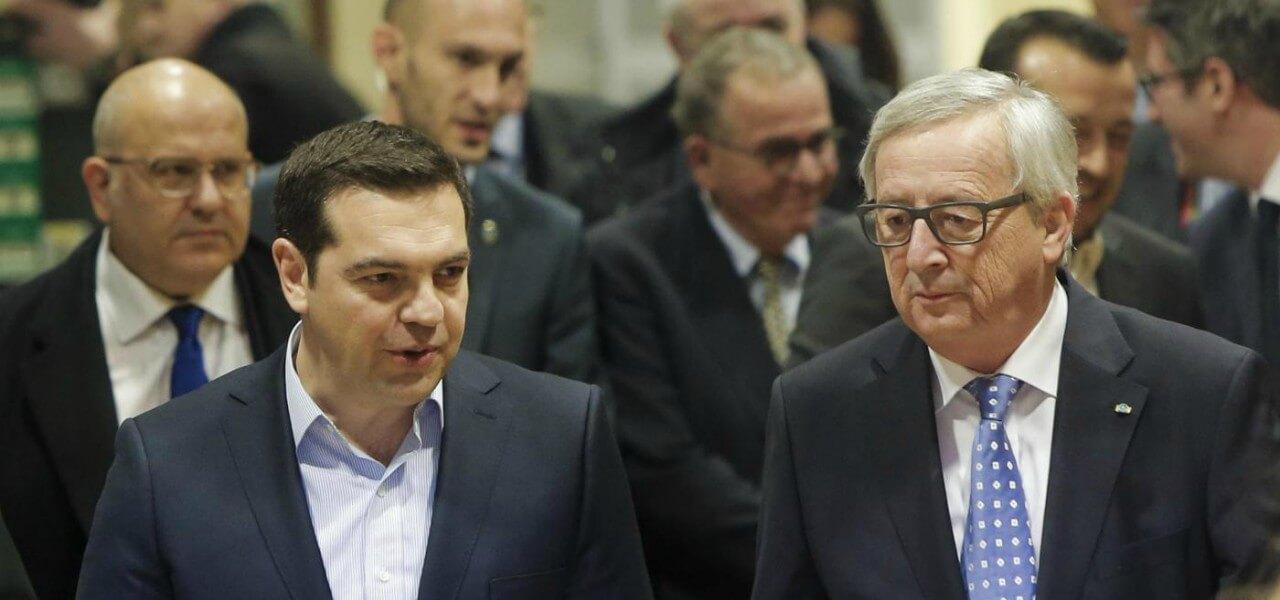 tsipras juncker grecia lapresse1280