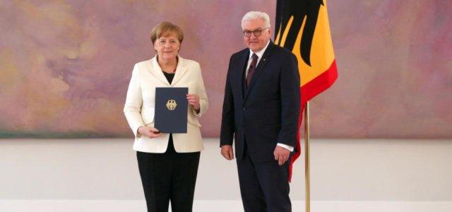 Merkel e Steinmeier