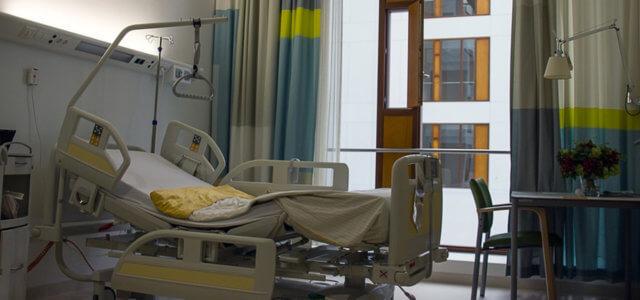 Letto d'ospedale, immagine di repertorio