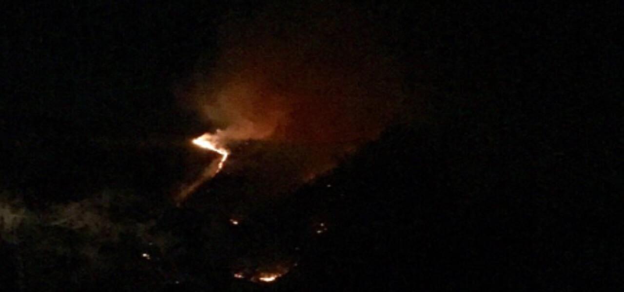 Incendio Varese