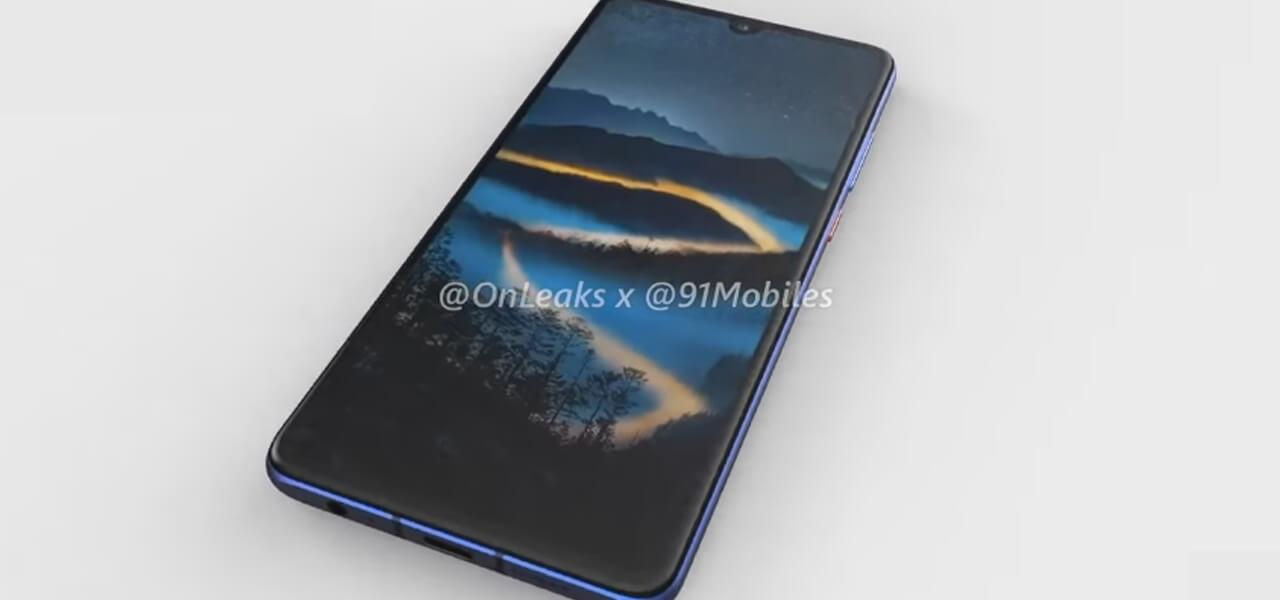 Huawei P30: video render apparso in rete
