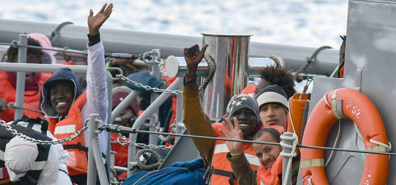 nave gregoretti migranti