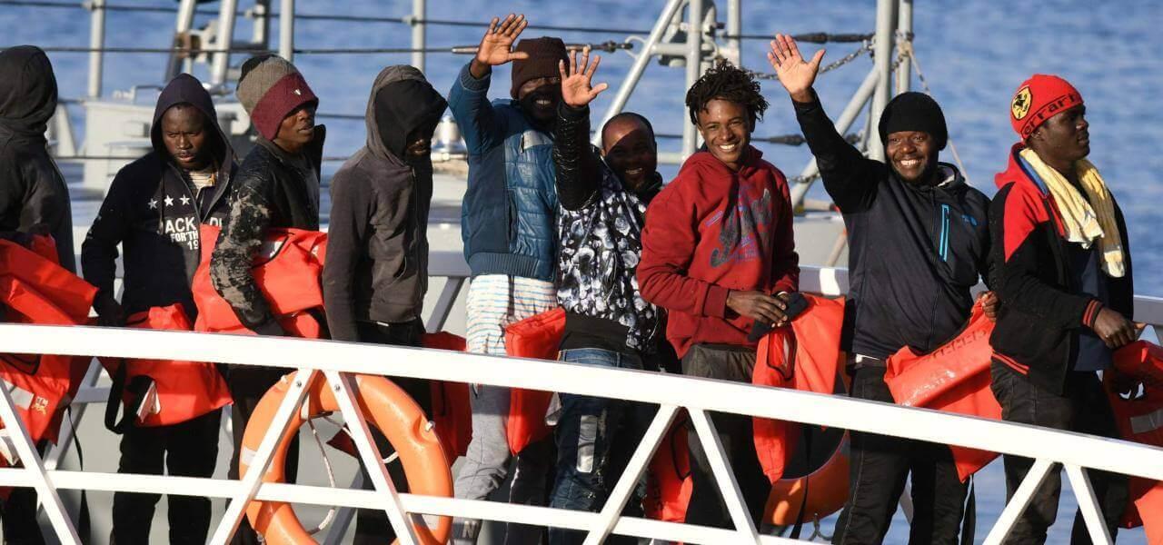 Sbarco migranti a Malta