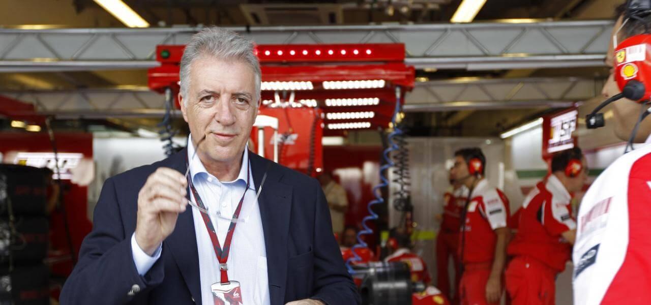 Il vice Piero Ferrari