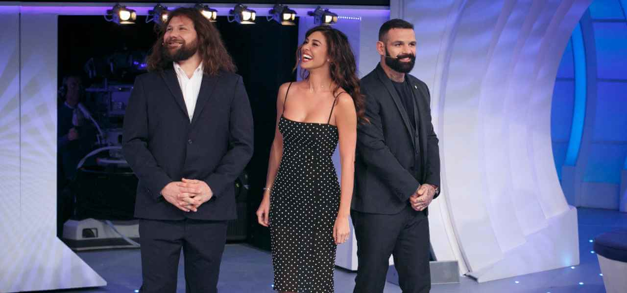 BELEN RODRIGUEZ, MARTIN CASTROGIOVANNI E ALESSIO ...